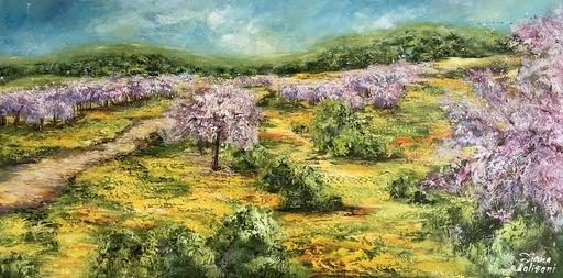 Diana MALIVANI - Pintura - Blooming Gardens