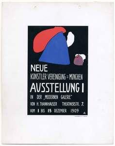 Wassily KANDINSKY, Neue Künstler-Vereinigung München