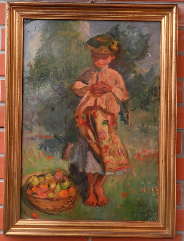 Štefan CPIN - Painting - In the fruit set