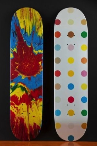 Damien HIRST - Sculpture-Volume - Skateboards Supreme N.Y.