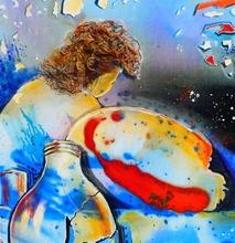 Jacqueline GAGNES-DENEUX - Peinture - EXPLOSION