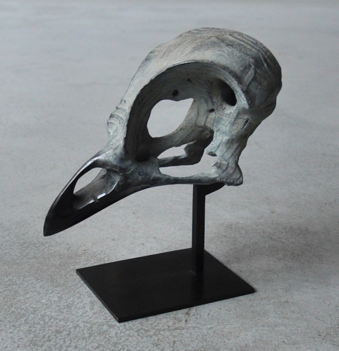 Quentin GAREL - 雕塑 - Petit crâne d'oiseau