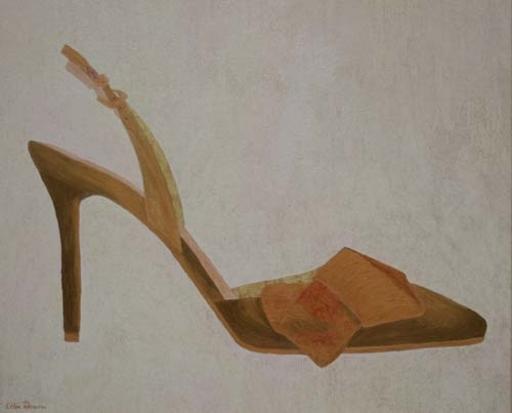Lelia PISSARRO - Peinture - Cuivre et Or