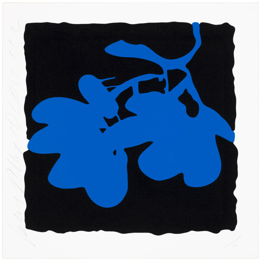 Donald SULTAN - Print-Multiple - Blue, May 10, 2012