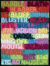 Mel BOCHNER - Print-Multiple - Babble