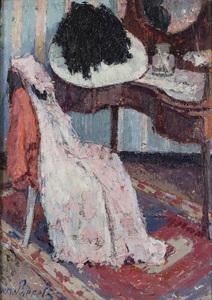 Willem PAERELS - Painting - Avant de sortir