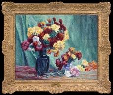 Maximilien LUCE - Pintura - Nature Morte aux Fleurs