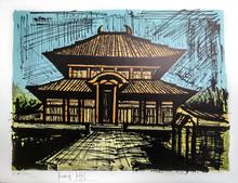 Bernard BUFFET - Stampa Multiplo - Temple Ryoan-Ji