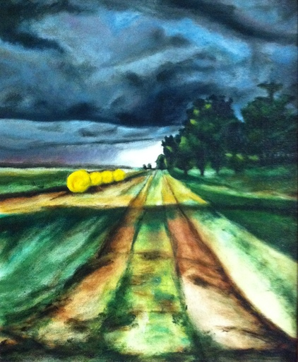 Federico JIMÉNEZ Y FERNÁNDEZ - Painting - Camino