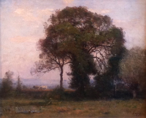 Louis Aimé JAPY - Pintura - paysage des Doubs