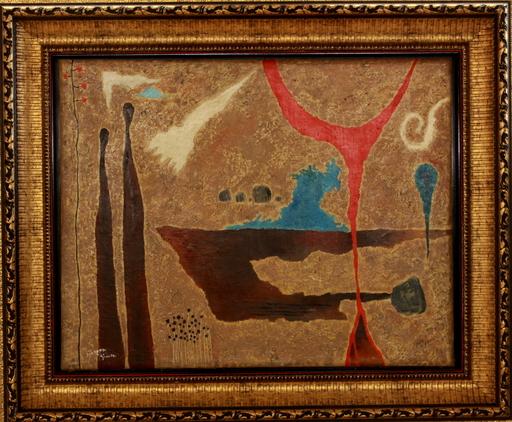 Yohanan SIMON - Painting - Fantastic landscape