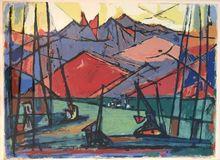 Marcel JANCO - Print-Multiple - Landscape