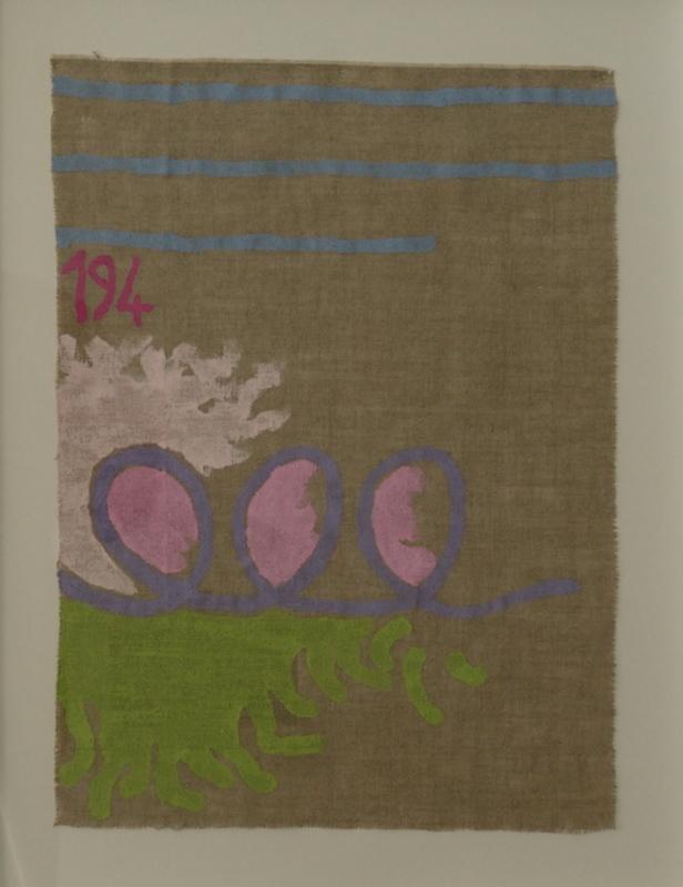 Giorgio GRIFFA - Pintura - Arabesco viola