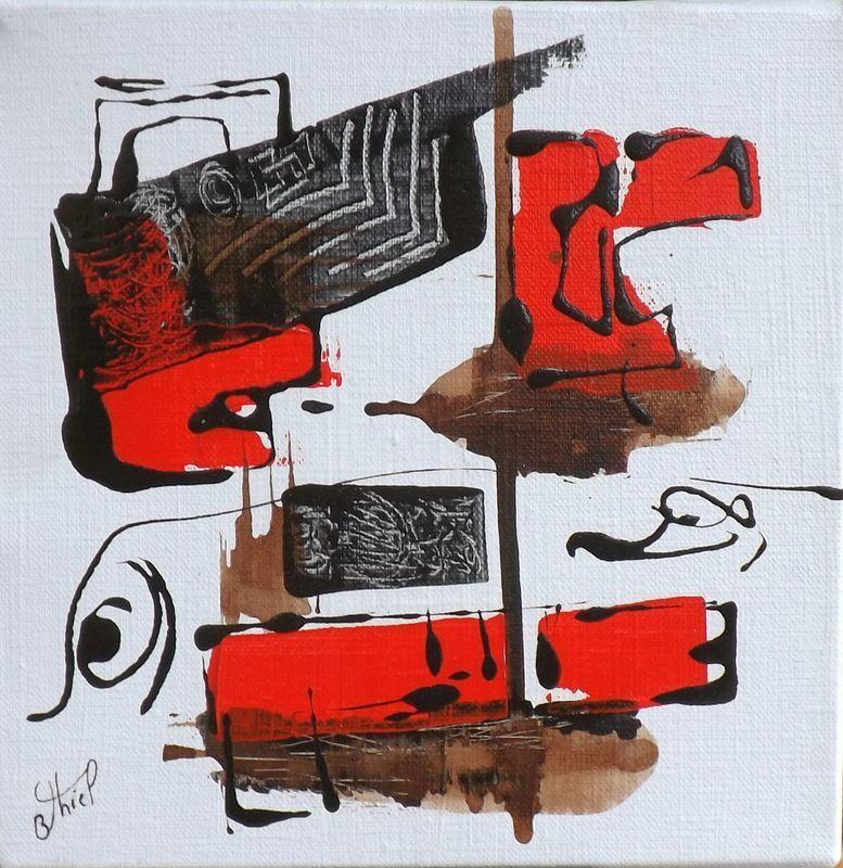 Benoit THIEL - Peinture - OYO........