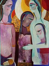 Theo MACKAAY - Painting - Circle of Comfort