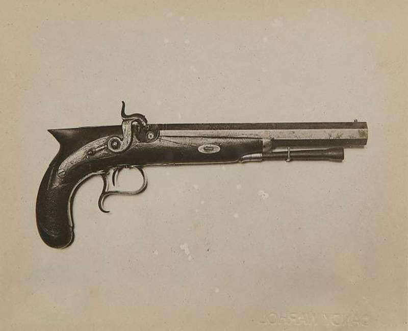 Andy WARHOL - Print-Multiple - Gun Photograph