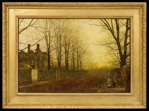 John Atkinson GRIMSHAW - Peinture - Autumn Glory