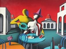 Mark KOSTABI - Painting - Long story short