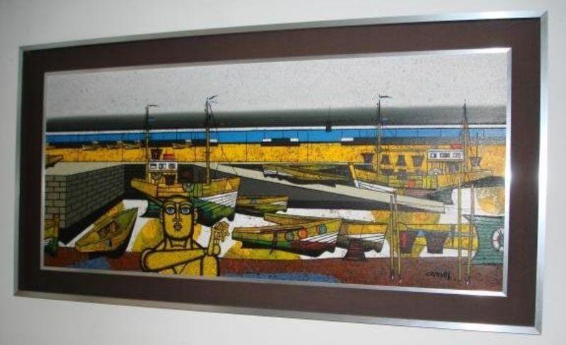 Gustave CAMUS - Pintura - Marine
