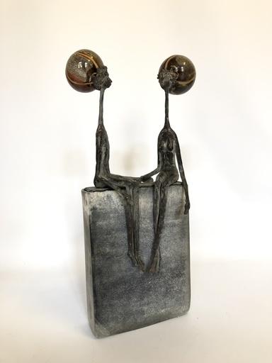 Robert DE SUTTER - Sculpture-Volume - couple 2