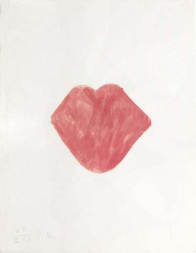 Jim DINE - Stampa-Multiplo - Untitled Lips