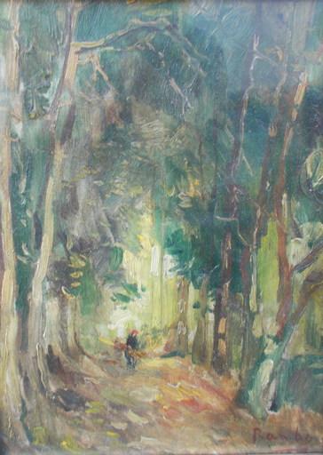 Jules RAMBO - Pintura - Sous bois