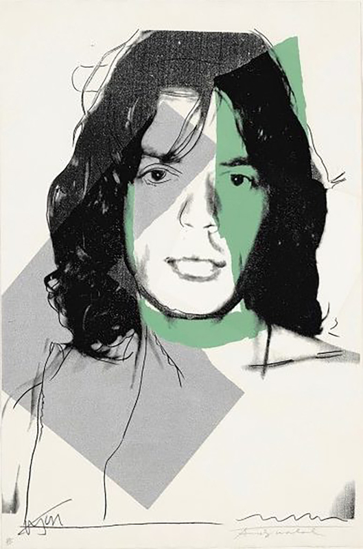 Andy WARHOL - Print-Multiple - Mick Jagger (F & S II.138)