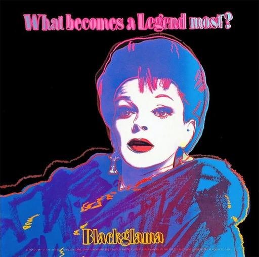 Andy WARHOL - Stampa-Multiplo - Blackglama (Judy Garland)