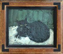 André COTTAVOZ (1922-2012) - Le chat