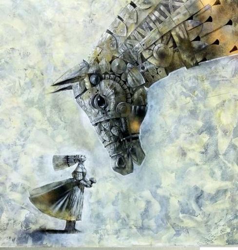 Bobur ISMOILOV - Peinture - Roxanne's first charm