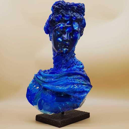 Paolo NICOLAI - Sculpture-Volume - Apollo in atarassia monocromatico