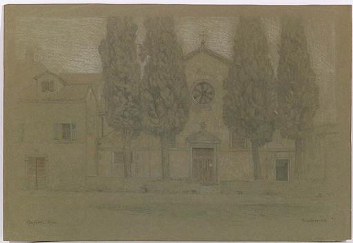 """Thomas LEITNER - Zeichnung Aquarell - """"Motive of Sicilia"""", ca 1905"""