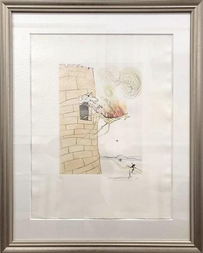 萨尔瓦多·达利 - 版画 - The Great Inquisitor (Breton) Expels the Savior (Dali)