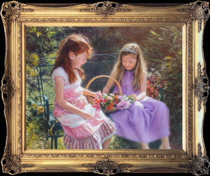 Tony SHEATH - Peinture - Flowers for Mum