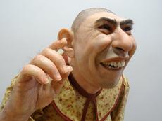 Thomas KUEBLER - Escultura - Schlitzie (Freaks movie)