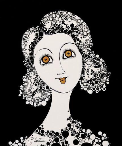 Véronique CLANET - Painting - Andrea