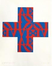 罗伯特•印第安纳 - 版画 - Love Cross