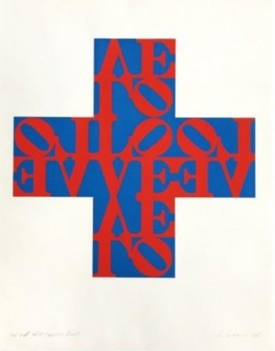 Robert INDIANA - Druckgrafik-Multiple - Love Cross