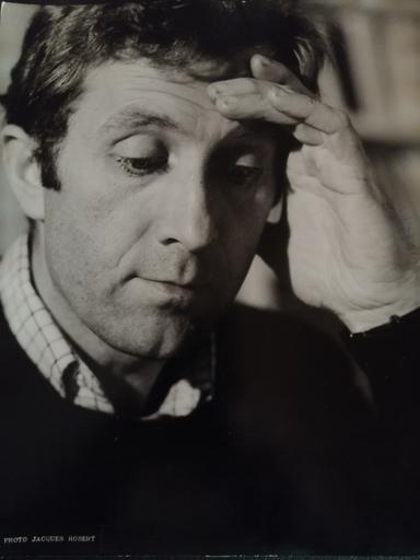 Jacques ROBERT - Fotografia - Bertrand POIROT-DELPECH - Ecrivain - (1929 - 2006)