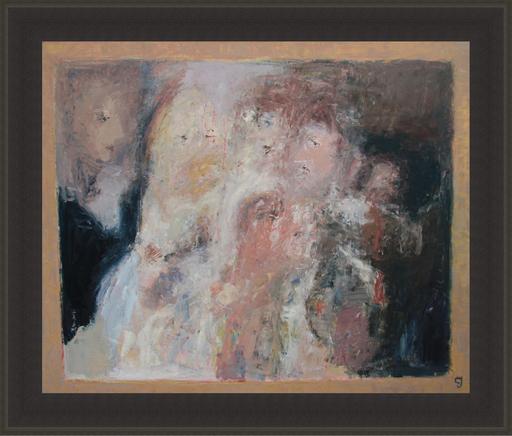 Levan URUSHADZE - Peinture - A family portrait