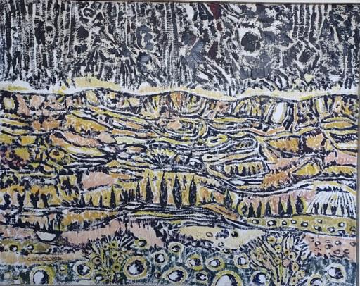 "Cristino DE VERA REYES - 绘画 - ""Montes y horizonte"""