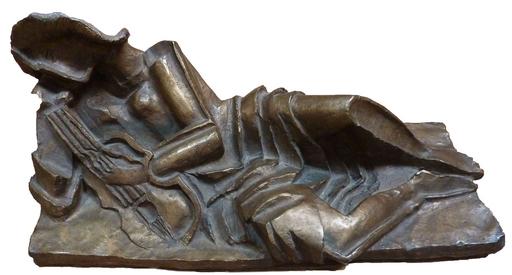 Ossip ZADKINE - Escultura - Musicienne au repos