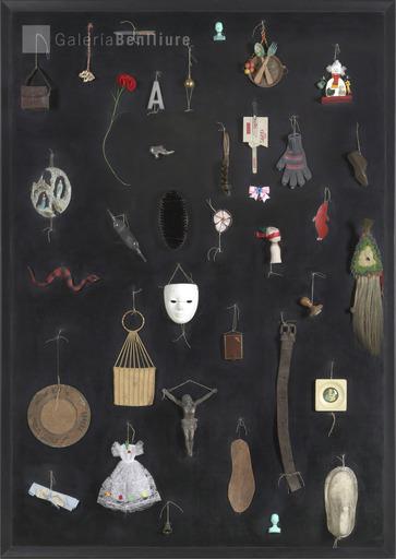 Carmen CALVO - Peinture - Sumergía la cabeza en los espejos y me puse a detestar los r