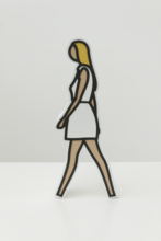 Julian OPIE - Sculpture-Volume - Tina