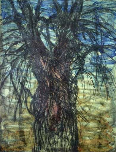 Jim DINE - Stampa-Multiplo - Tree (A Female Robe for Karen McCready)
