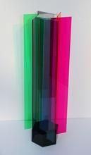 Carlos CRUZ-DIEZ - Escultura - Transchromie à 6 plaques