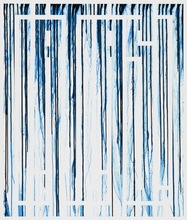L'ATLAS - Painting - Bue Drips