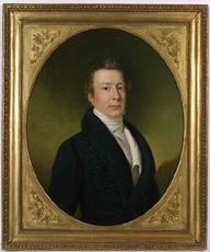 Joseph KRAFFT - Painting - Manner-Mannagetta Family, Three Portraits, 1823