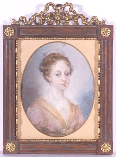Heinrich Friedrich FÜGER (Attrib.) - Drawing-Watercolor - CIRCLE of Friedrich Heinrich Füger, Portrait of a Girl