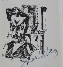 Marcel JANCO - Print-Multiple - Self portrait-DaDa publication